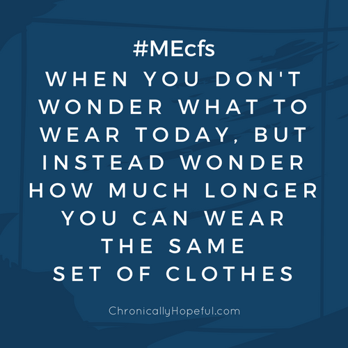Don't wonder what to wear, ME Awareness Graphics