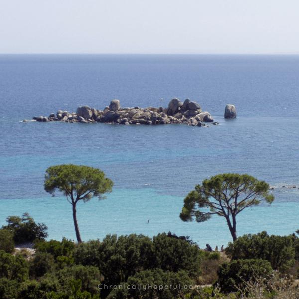 Corsica, a little island