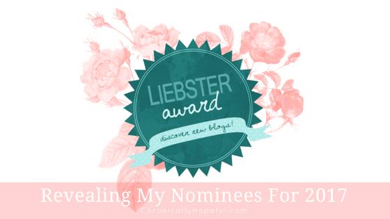 My First Liebster Award BLOG