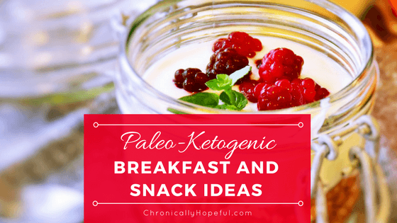 Paleo-keto Breakfast and Snacks BLOG