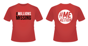 Millions Missing t-shirt