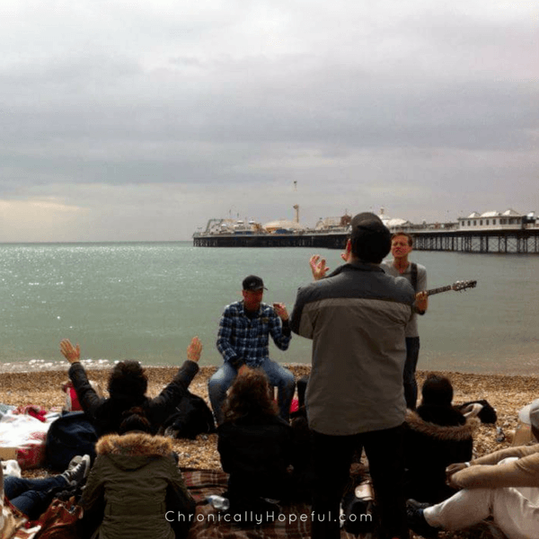 My Baptism, Brighton 2012 Worship