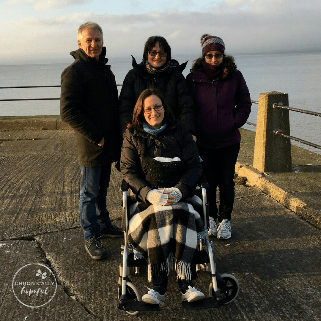 First outing in wheelchair, Lake District Feb 2017, Chronically Hopeful