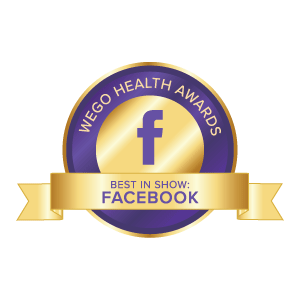 WEGO Health Award for Best In Show Facebook