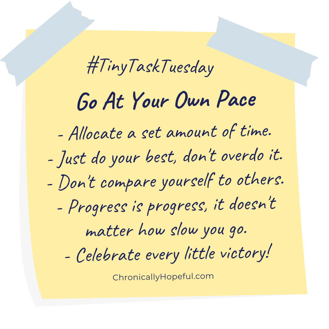 General instructions for Tiny Task Tuesday challenge