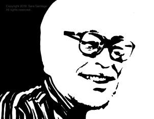 Miyazaki #BeBraveBrain Original painting by Sara Santiago