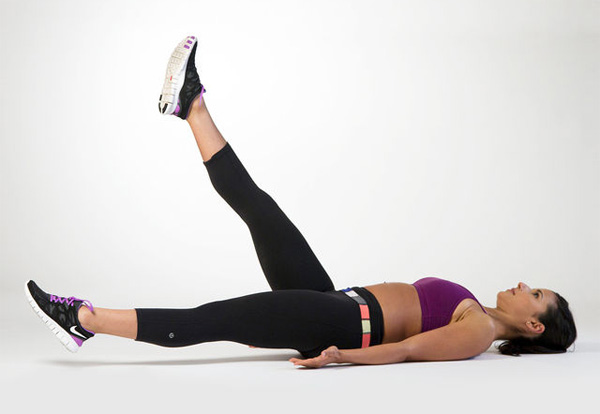 chronic lower back pain exercise leg raise