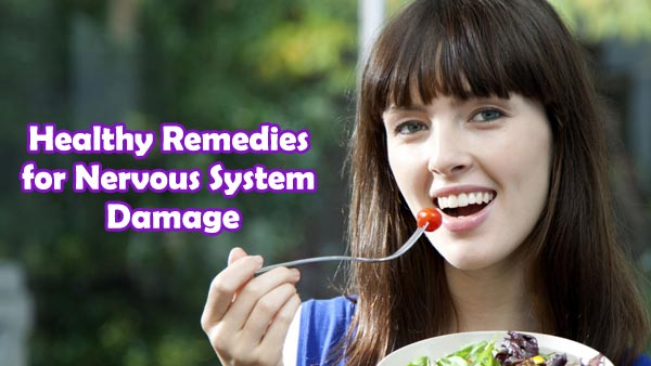 Healthy Remedies for Nervous System Damage