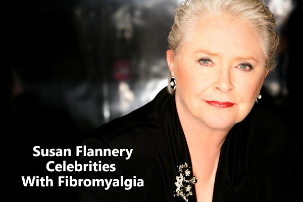 Susan Flannery celebrities with fibromyalgia
