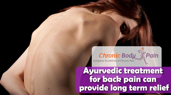 Ayurvedic treatment for back pain