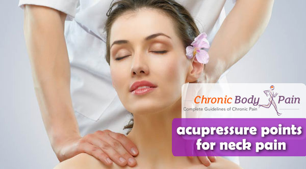 acupressure points for neck pain