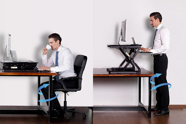 How to use standing desks correctly