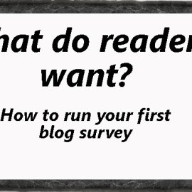 A How-To For Blog Surveys: Find Out What Your Readers Want