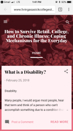 How to Survive Retail, College, and Chronic Illness: Coping Mechanisms for the Everyday