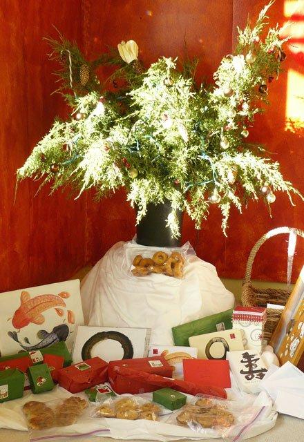Chronic Illness Christmas Lite - tree in a vase