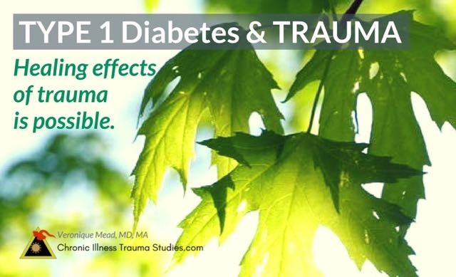 Trauma and type 1 diabetes: If trauma is a risk factor for type 1 diabetes (and this post includes some of the science), healing the effects of trauma may help with symptoms. There are many approaches for resolving and treating trauma even years after an event.