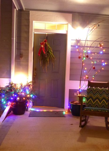 Our cheerly little Charlie Brown Christmas Tree. in 6 Holiday Tips.A post on Tumbling the stone: a chronic illness blog