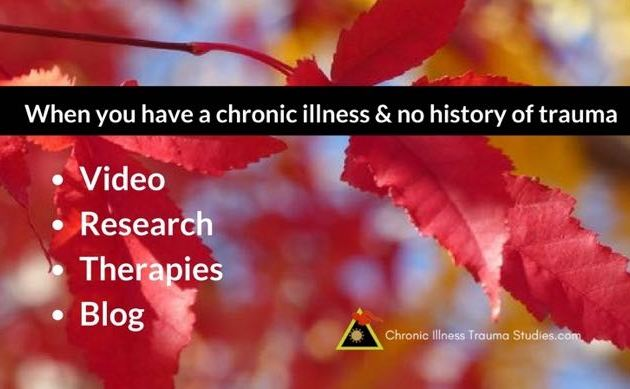 There are risk factors for chronic illness that are rarely recognized outside of the research. These include events in very early life and beyond. Here's an intro video and some of the research studies.