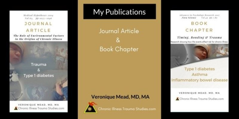 My Journal Article and Book Chapter by Veronique Mead, MD, MA at Chronic Illness Trauma Studies