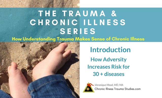 Understanding Trauma Makes Sense of Chronic Illness Introduction Mead 2018 List of 30+ diseases #autoimmune #diabetes #stroke #hypertension #metabolicsyndrome #insulinresistance #Alzheimers #ME/CFS