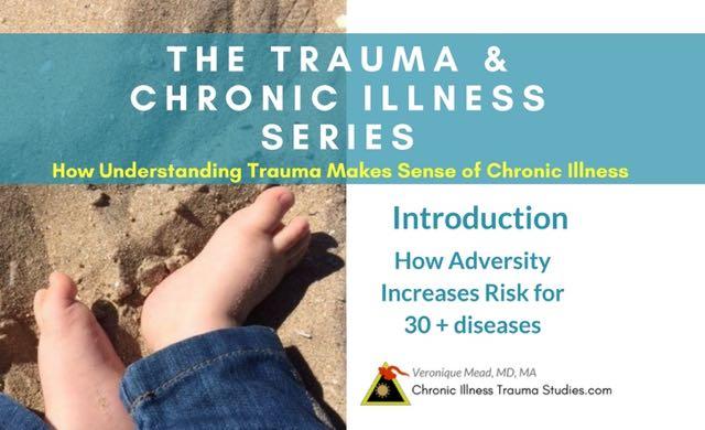 Understanding Trauma Makes Sense of Chronic Illness Introduction Mead 2018 List of 30+ diseases #autoimmune #diabetes #stroke #hypertension #metabolicsyndrome #insulinresistance #Alzheimers #ME/CFS