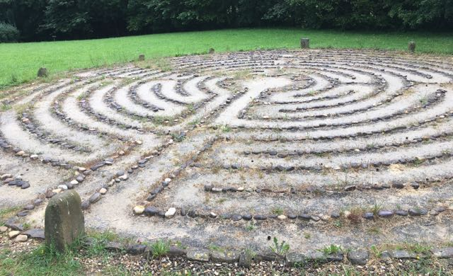 I walked the labyrinthe at Amulurra Veronique Mead_CITS_2019 Healing Multigenerational Trauma with Stephan Hausner