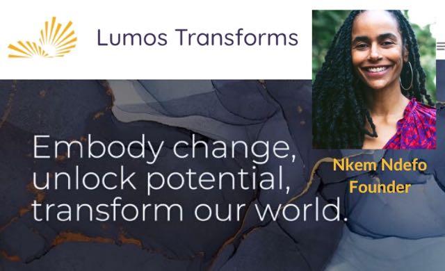 Nkem Ndefo Lumos Transforms Trauma Mind Body Super Conference Donate