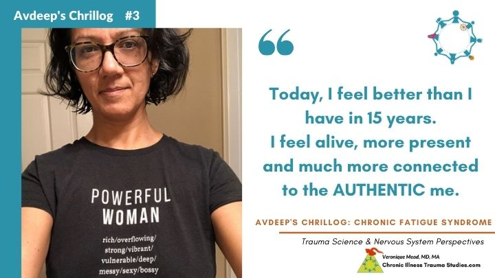 Avdeep's Chronic Fatigue Story Today I feel better than I have in 15 years Mead CITS