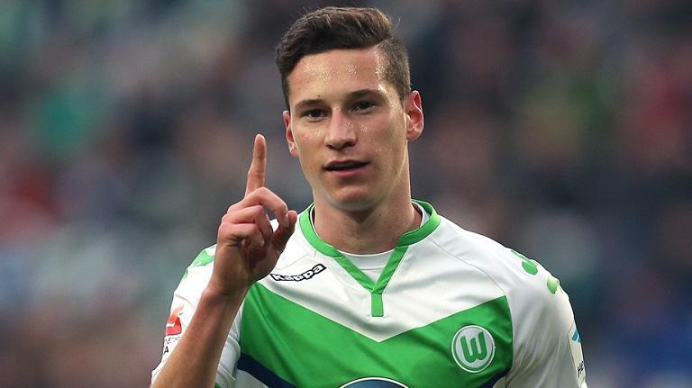 Julian Draxler is keen to leave Wolfsburg