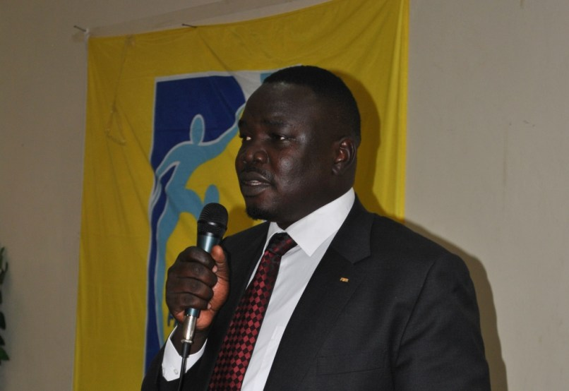 President of South Sudan Football Association, Chabur Goc Alei