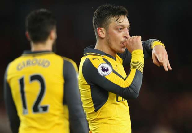 Mesut Ozil has been involved in four goals in his last four Premier League games (2 goals, 2 assists).