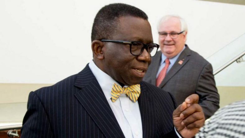 Nigeria's Health Minister Prof Isaac Adewole