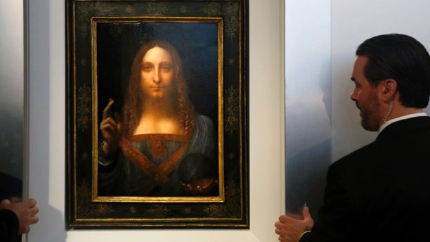 'Salvator Mundi' is one of fewer than twenty paintings by Leonardo da Vinci known to exist