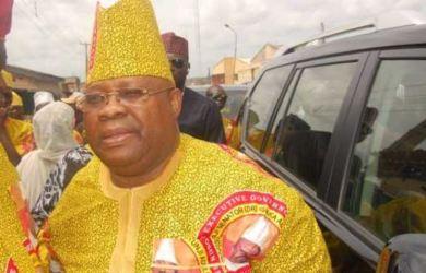 Senator Ademola Adeleke filed his case at the tribunal challenging the outcome of Osun governorship election