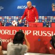 Gianni Infantino wore a volunteer hoodie to the World Cup press conference