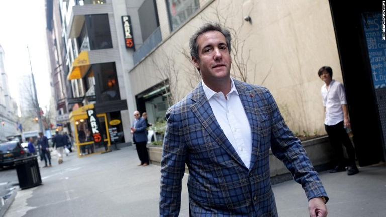 Michael Cohen recorded payment conversation with Donald Trump