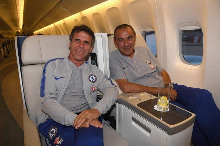 Gianfranco Zola returns to Chelsea as Maurizio Sarri's assistant