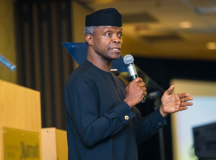 Vice President Yemi Osinbajo, SAN, says our history is only the beginning of that great Nigerian story