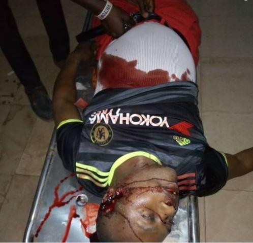 Bunmi Ojo pictured after he was gunned down by unidentified gunmen in Ado Ekiti on Friday