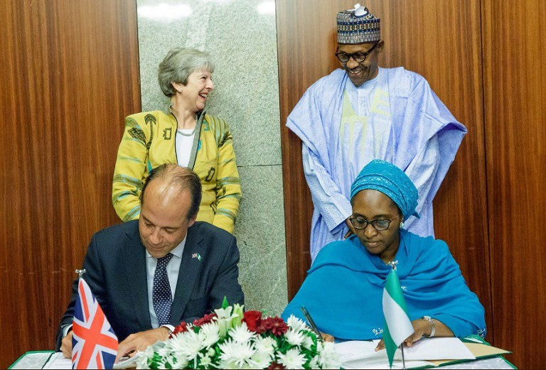 Nigeria, UK has signed trade agreements in defence and security