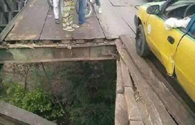 This bridge connects Ilorin to Kiama and falls under Kwara Central Senatorial Districts which Senate President Bukola Saraki represents
