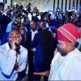 Senator Ademola Adeleke was at Club Ozon with his nephew Davido