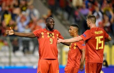 Romelu Lukaku scored twice as Belgium beat Switzerland 2-1 in UEFA Nations League match