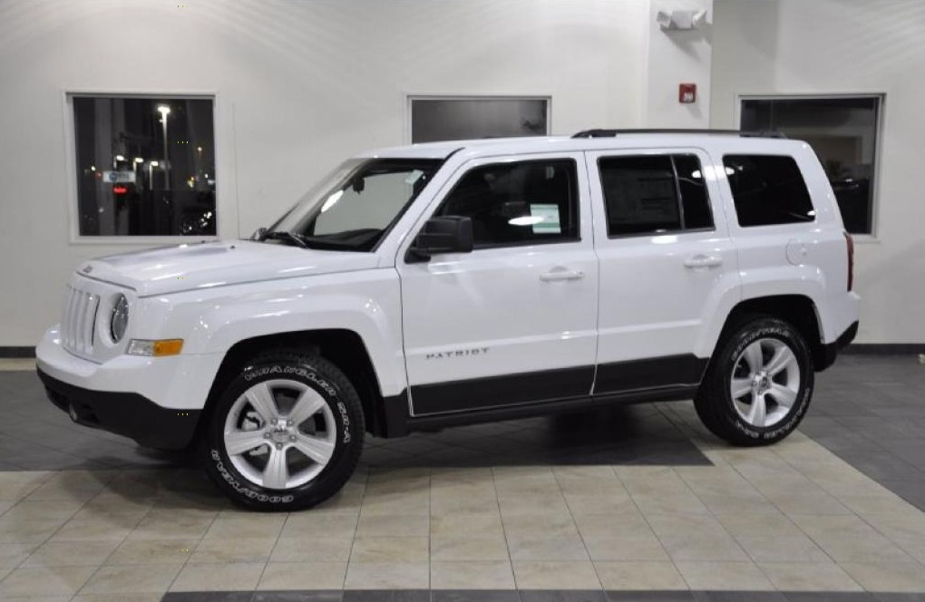 The all new 2015 Jeep Patriot comes in an untainted, never-mixed white color.
