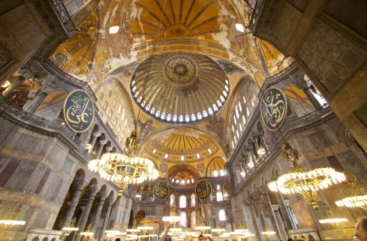 Wikipedia was allowed entrance into the sacred Muslim grounds of the Hagia Sophia, known in some circles as the World Trade Center of the Middle Ages.