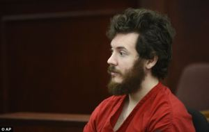 Holmes now says his victims were infidels.