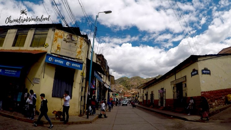 CUSCO CITY STREETS