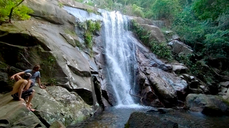 WATERFALL ILHA GRANDE