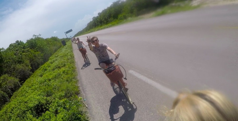 Tulum bike ride