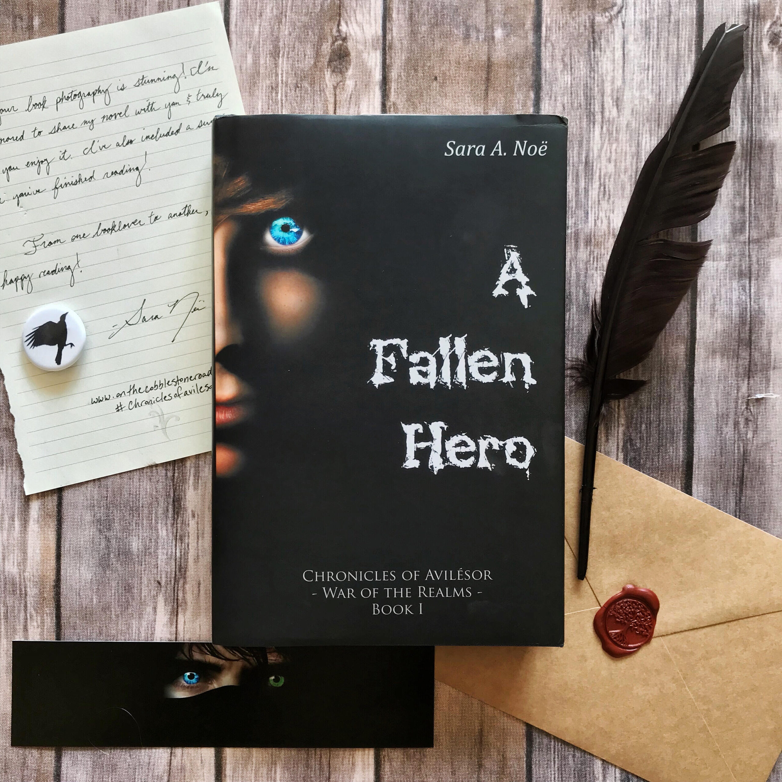 A Fallen Hero #bookstagram by @bmbookcase